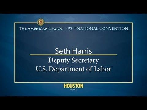 Seth Harris Deputy Secretary U S  Dept of Labor