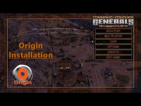 Zero Hour - Shockwave Mod Install Guide Origin