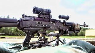 U.S. Army • M240 Bravo Machine Gun