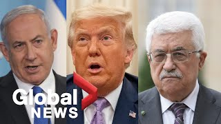 Palestinians denounce peace agreement between UAE and Israel mediated by Trump