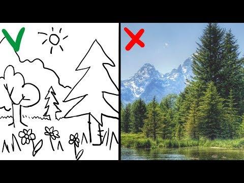 Как научиться рисовать фоны
