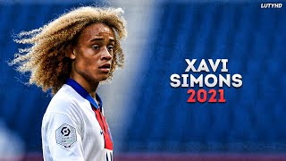 Xavi Simons 2021 - The Future | Magic Skills & Goals | HD