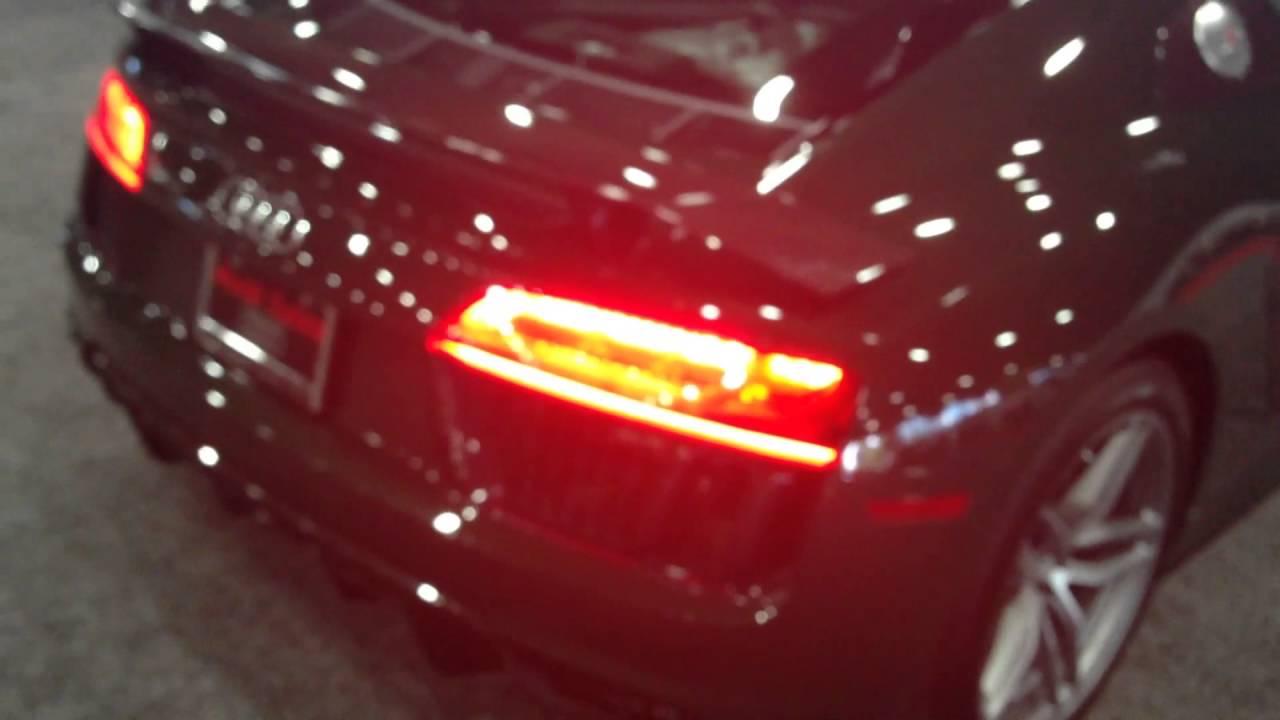 2017 Audi R8 V10 Plus Cold Start Up Sport Mode Youtube