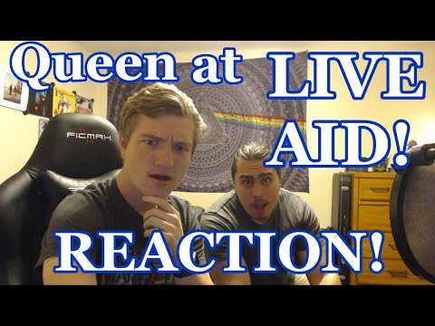 College Students First Time Watching Queen at Live Aid | Queen Reaction