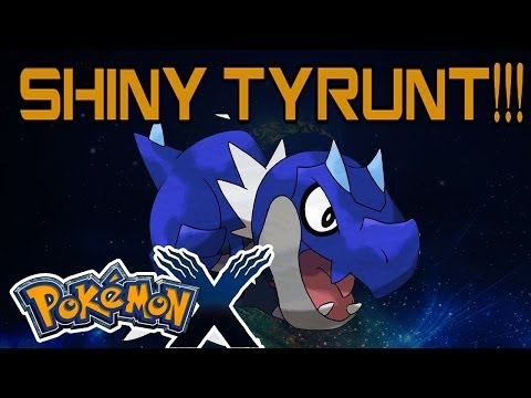 Pokemon XY Series - Episode 86 Tyrunt Evolution Tyrantrum ...
