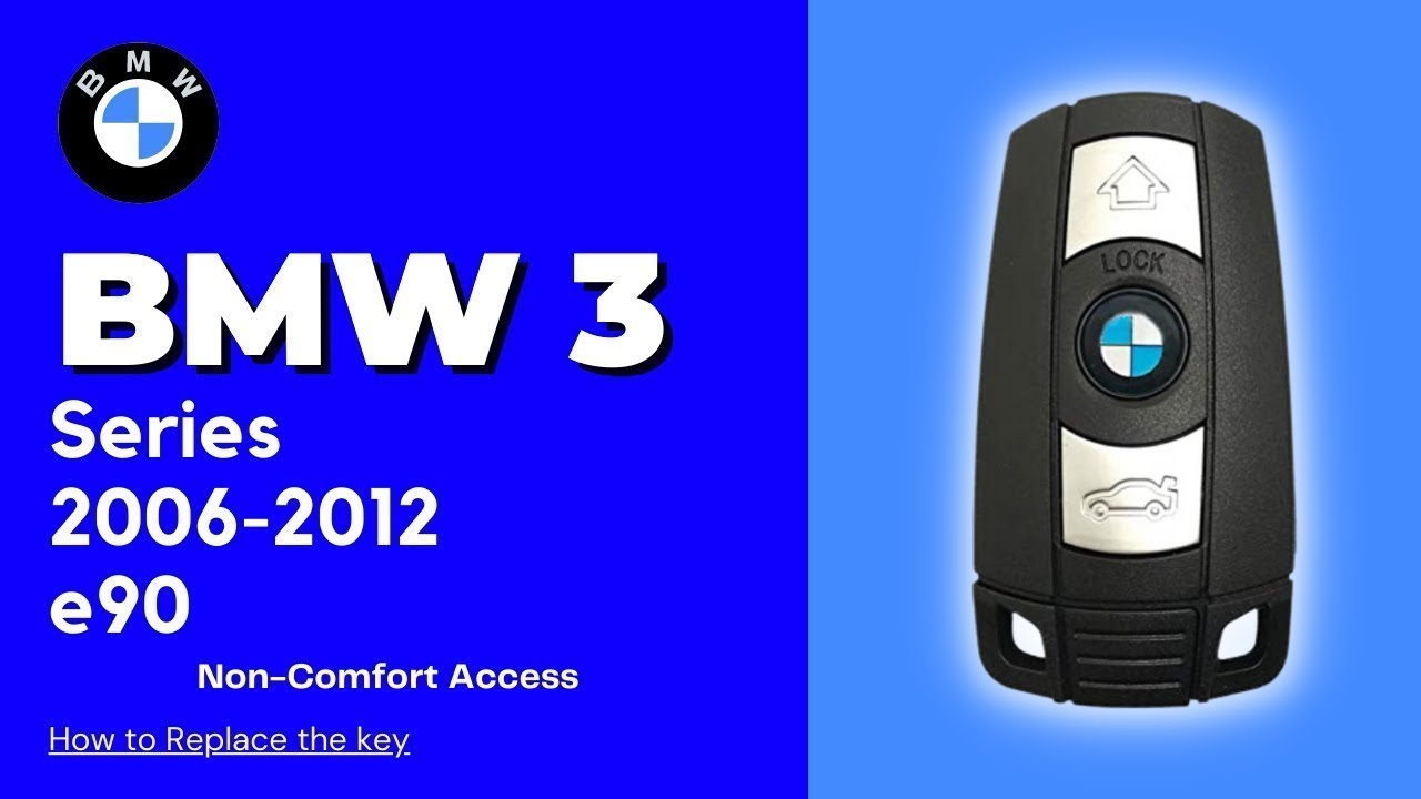 2006 2012 Bmw 3 Series Non Comfort Access Key Battery