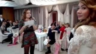 Поздравление  подруге на свадьбу( рэп  под минус песни вдох-выдох)