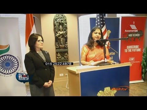 Consulate General of India, Chicago Celebrating 69th Republic Day of India