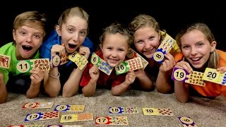 Learn English Numbers! Fun Wooden Counting Puzzles with Sign Post Kids!