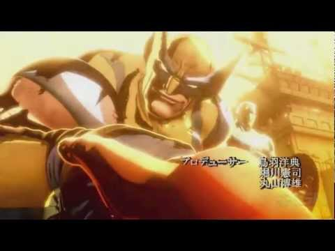 Ultimate Marvel vs Capcom 3 anime opening