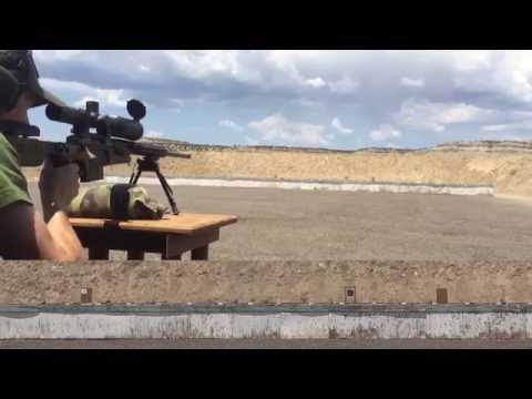 Sniper Training to Rapidly Shoot Running Targets - Utah Precision Rifle Series Moving Targets