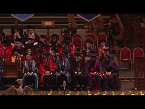 Graduation 2017 - Tuesday 11 July - afternoon ceremony