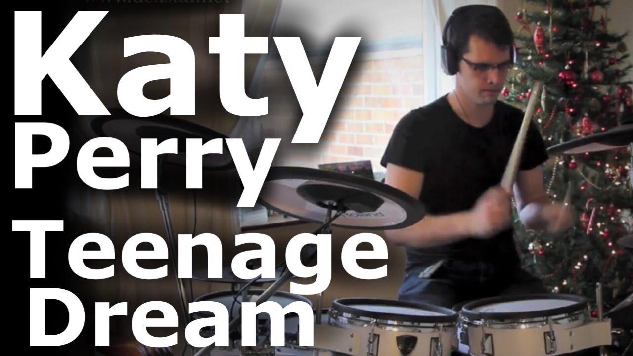 Katy Perry - Teenage Dream (Dex Star drum cover)