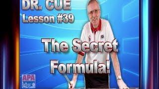 APA Dr. Cue Lesson 39 - Simple Formula for Fine Tuning Mechanics!!