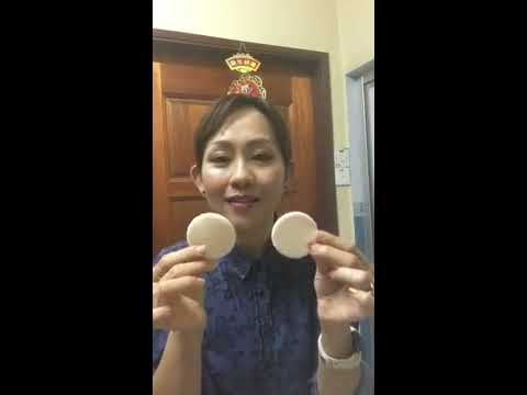 How to clean your cushion foundation puff