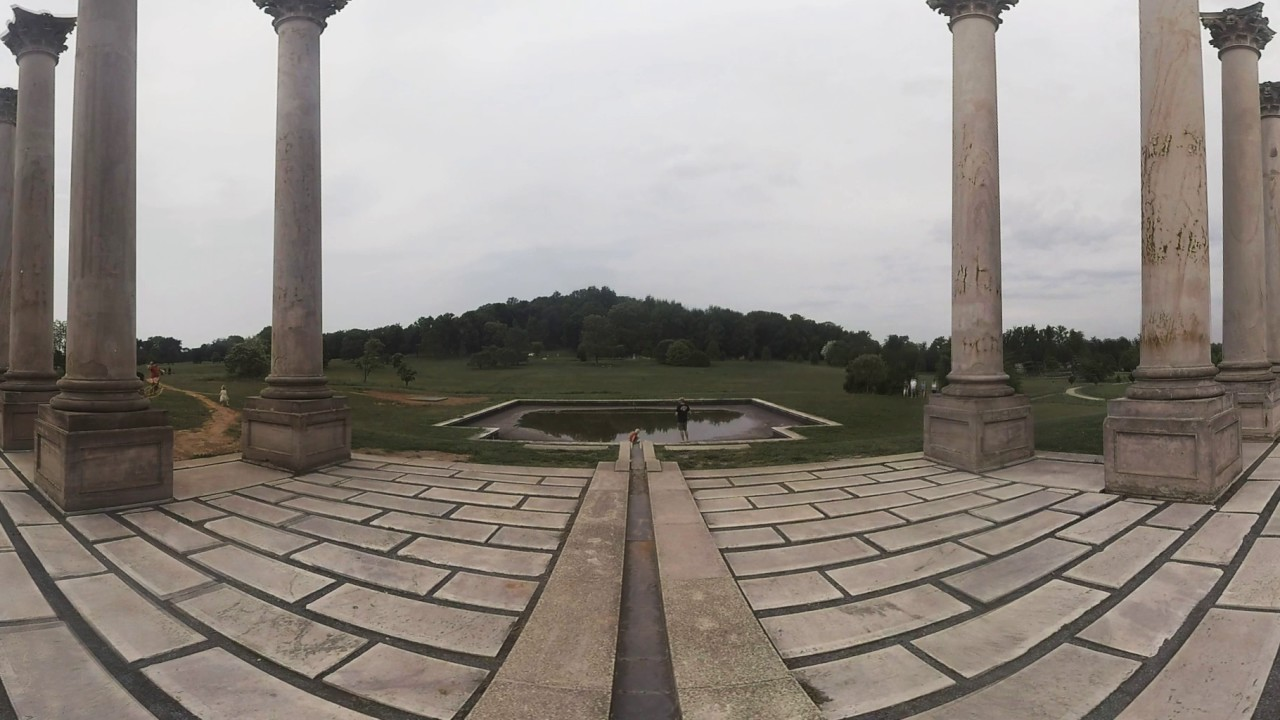 The National Capitol Columns at the U.S. National Arboretum | Washington, DC 360 Video