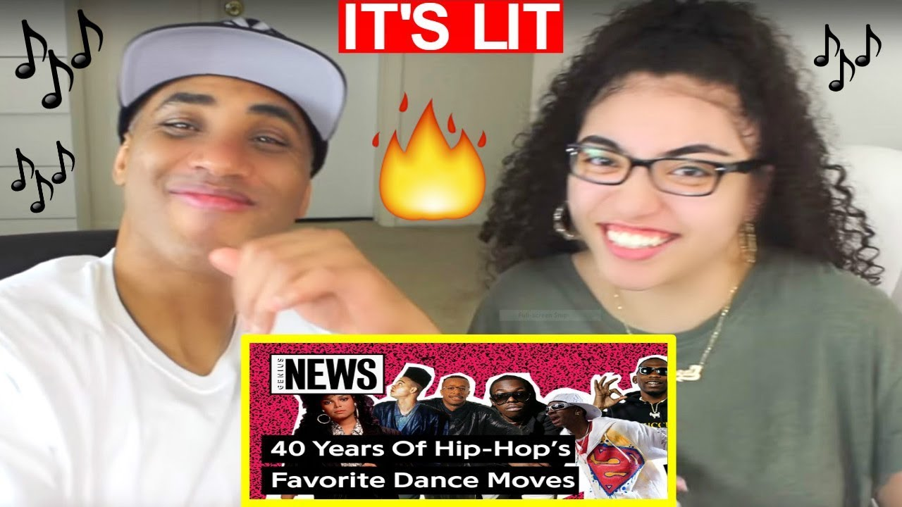 MY DAD REACTS From Breakin' To The Shoot: 40 Years Of Hip-Hop's Favorite Dances REACTION