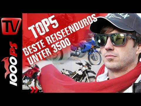 Top 5 - Die besten Reiseenduros unter 3500 Euro