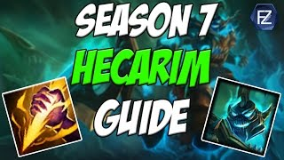 FREELO JUNGLER - How to Play Hecarim Jungle in Season 7 | League of Legends