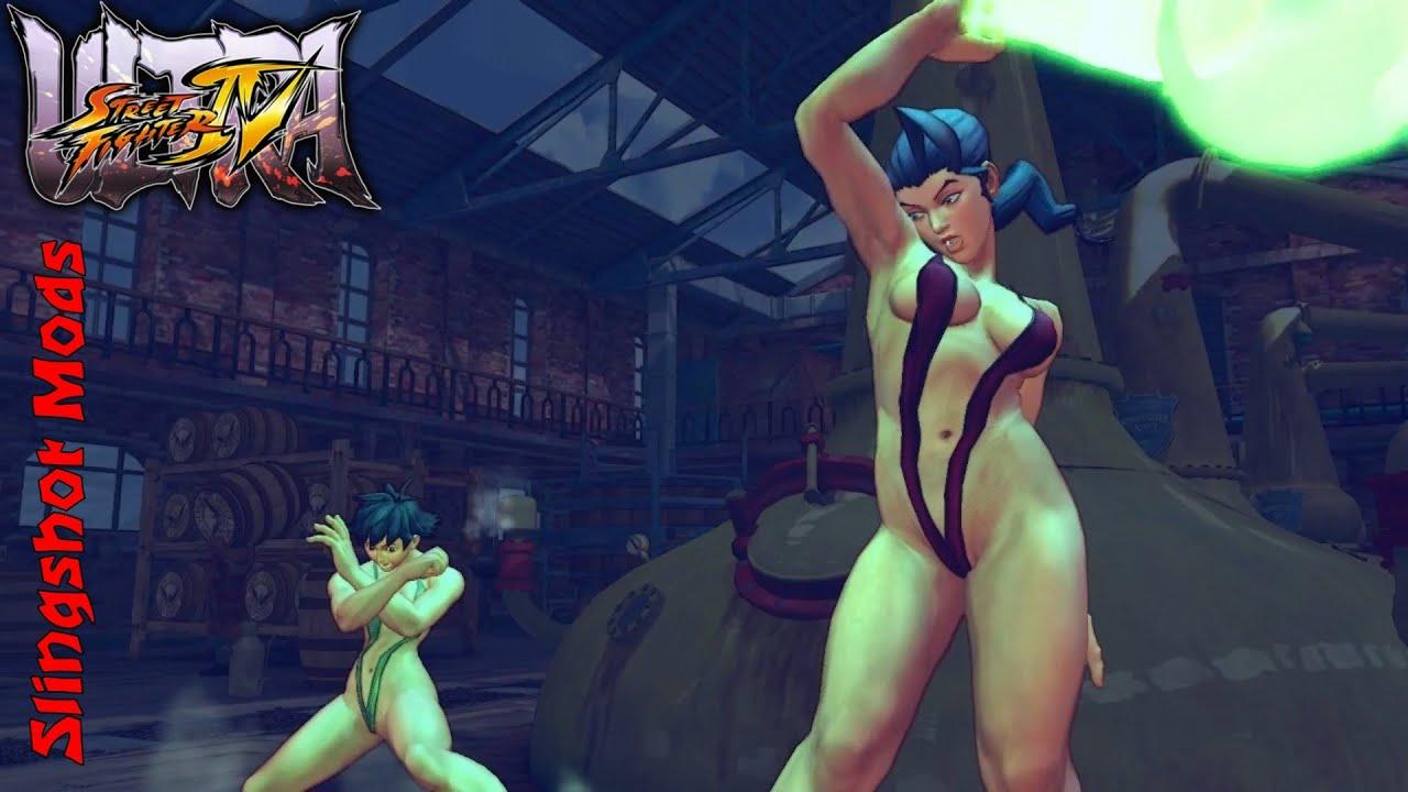 Hot Street Fighter Lesbian Rose 67