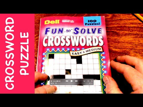 Relaxing crossword