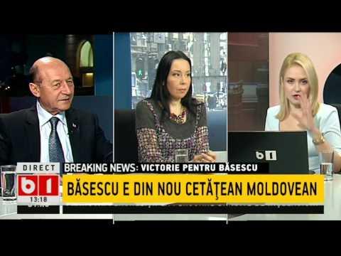Traian Băsescu Este Din Nou Cetățean Al Republicii Moldova