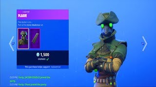 Fortnite ITEM SHOP (October 11) | *NEW* PLAGUE & SCOURGE SKINS!