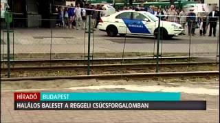 Villamosmegállóba hajtott egy autó: halálos baleset az Örs vezér terén