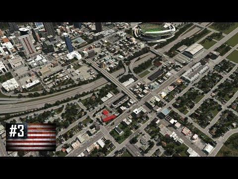 Cities: Skylines - The American Dream #3 - Defiant inner-city suburb