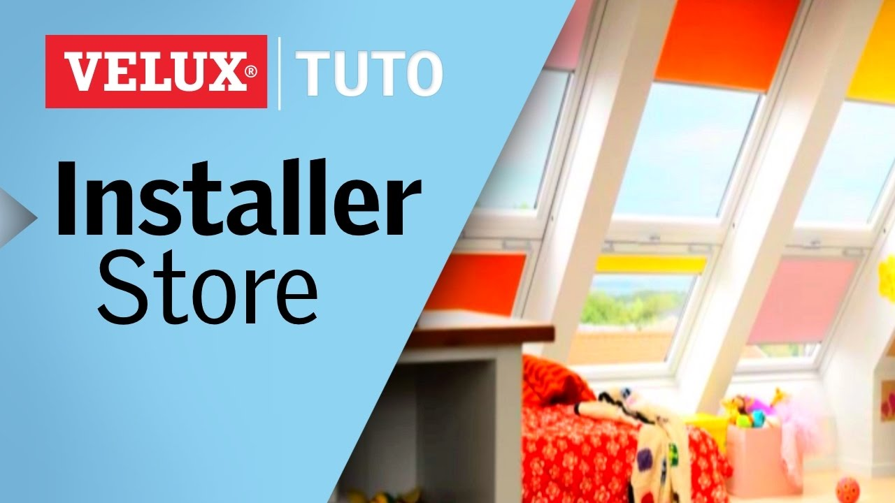 tuto comment installer un store occultant velux pas pas youtube. Black Bedroom Furniture Sets. Home Design Ideas