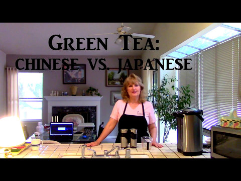 How To Brew Loose Tea:  Chinese Green Tea vs Japanese Green Teas