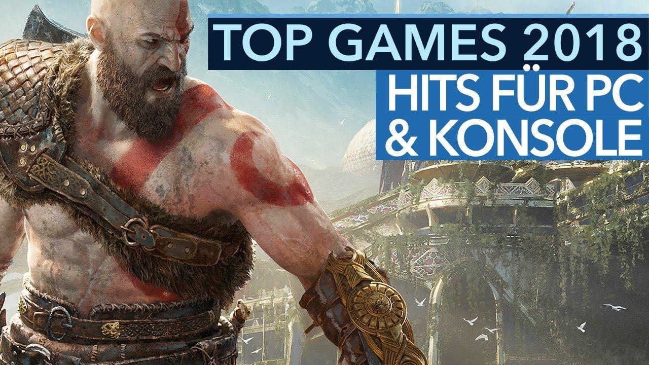 Top Games 2018 - Die besten Spiele, die ihr JETZT für PC & Konsole kaufen könnt