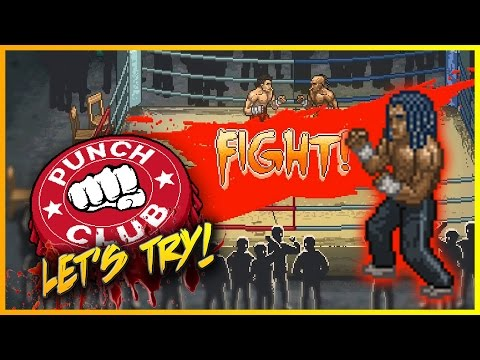 "PUNCH CLUB - Part 1 - ""90's BOXING MANAGER TYCOON!!!"" ► Let's Try Punch Club"