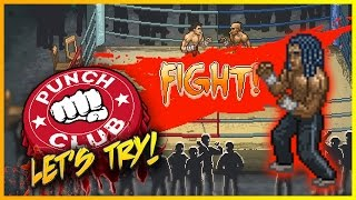 """PUNCH CLUB - Part 1 - """"90's BOXING MANAGER TYCOON!!!"""" ► Let's Try Punch Club"""