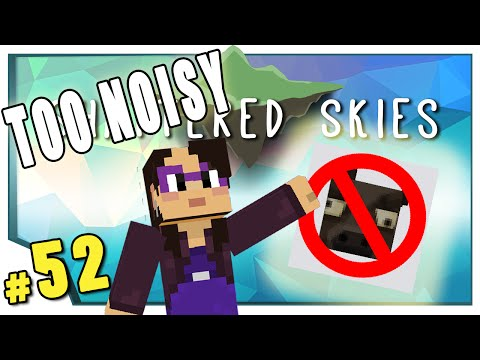 Minecraft: Shattered Skies - #52 - Too Noisy (FTB Skyblock)