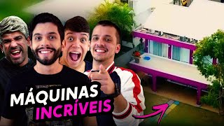 AS MÁQUINAS INCRÍVEIS DA GAMELAND!!