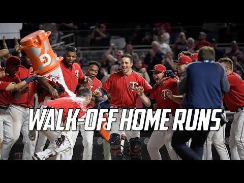 MLB | Walk-Off Home Runs of 2017 | Part 1 - YouTube