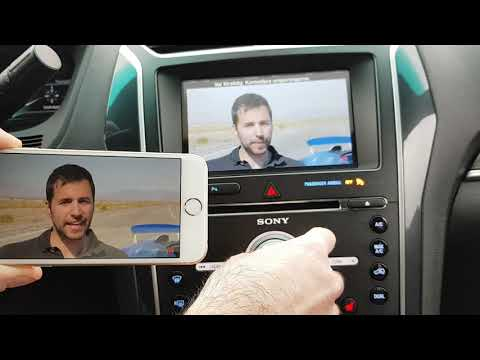 Ford Sync 3 & 2 Wireless Phone Mirroring kit (Iphone)