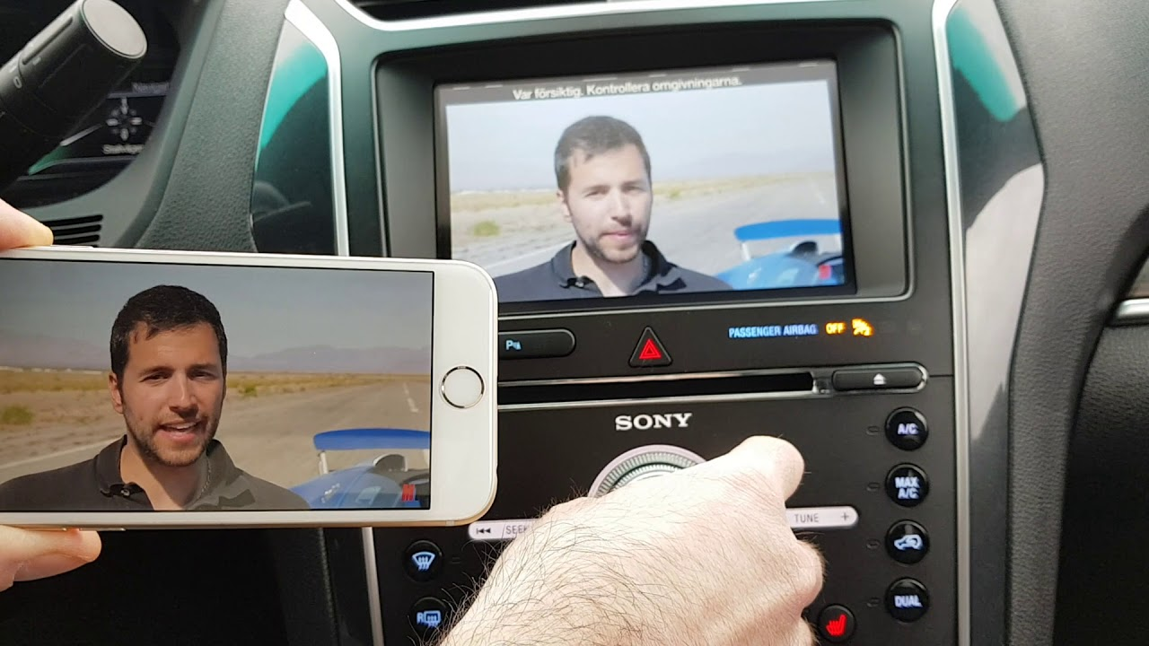 ford sync 3 2 wireless phone mirroring kit iphone  [ 1280 x 720 Pixel ]