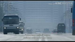 Утренняя пропаганда в Северной Корее // Документальные кадры // В лучах Солнца
