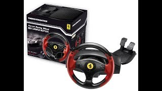 Thrustmaster Ferrai Racing Wheel-Red legend Edition Review & Unboxing