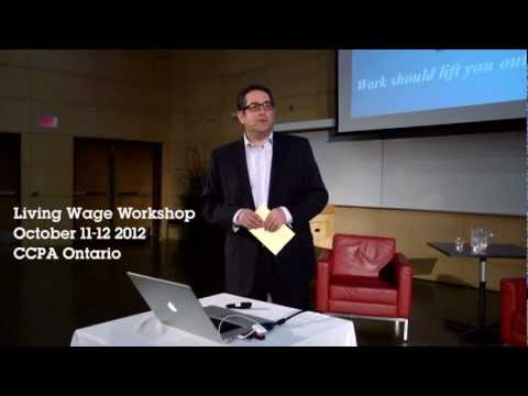 Seth Klein on BC's Living Wage