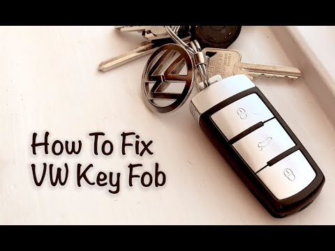 VW Passat Key Fob Doesn't Work Fix