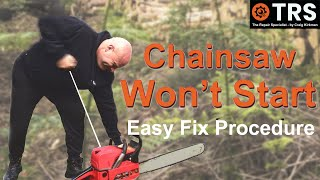 Chainsaw Won't Start / Life Hack / Repair Tips / Quick Fixes/ for Beginners