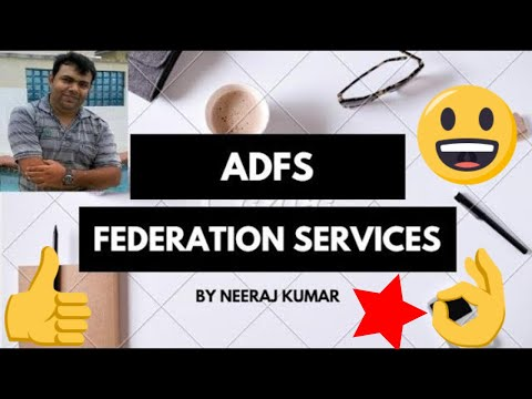 ADFS management (Federation Services)