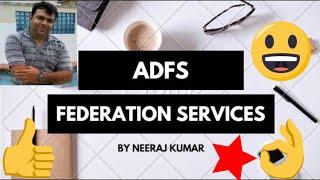 ADFS management (Federation Services)