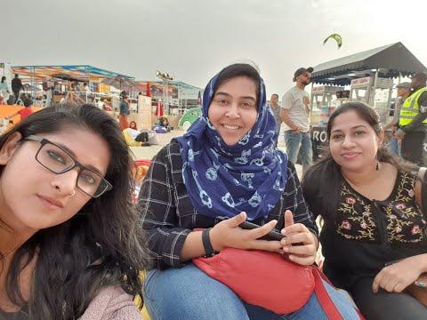 1 MILLION VIEWS 😍Exploring Dubai Food Fest 2019 @ Kite Beach, Jumeirah, Dubai, UAE