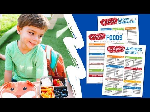 Easy Preschool Lunch Ideas | Lunch Ideas For Picky Eaters