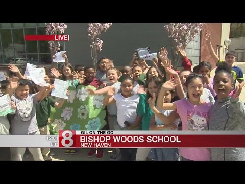 Gil on the Go: Bishop Woods School in New Haven