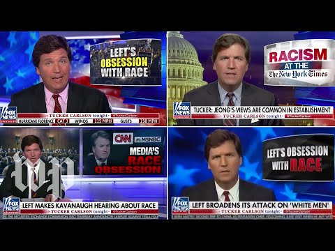 Opinion | Just who is obsessed with race, Tucker Carlson?